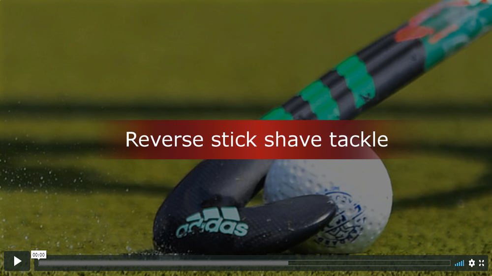 Reverse stick shave tackle